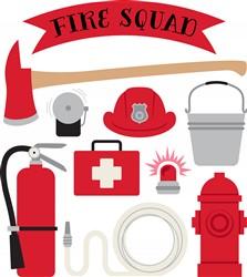 Fire Squad Print Art