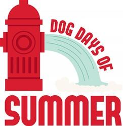 Dog Days Summer Print Art