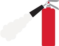 Fire Extinguisher Print Art