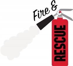 Fire & Rescue Print Art