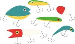 Fishing Lures Print Art