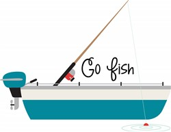 Go Fish Print Art