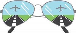 Aviator Sunglasses Print Art