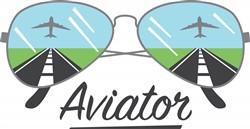 Aviator Glasses Print Art