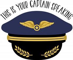 Your Captain Print Art