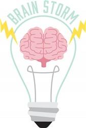 Brain Storm Print Art