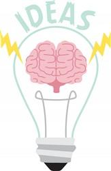 Light Bulb Ideas Print Art