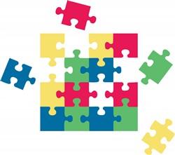 Autism Puzzle Print Art