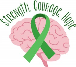 Strength Courage Hope Print Art