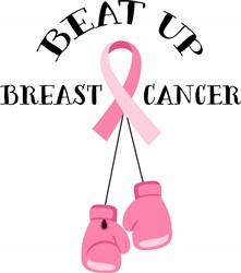 Beat Breast Cancer Print Art