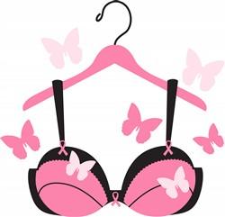 Breast Cancer Bra Print Art