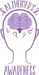 Alzheimers Awareness Print Art