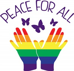 Peace For All Print Art