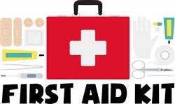 First Aid Kit Print Art