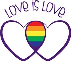 Love Is Love Print Art
