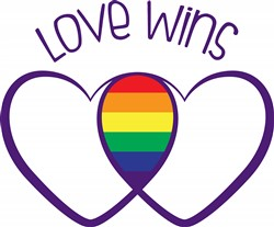 Love Wins Print Art