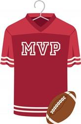 Football MVP Jersey Print Art