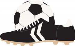 Soccer Gear Print Art