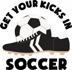 Soccer Kicks Print Art