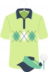 Golf Gear Print Art