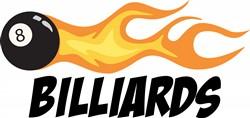 Billiards Eight Ball Print Art