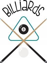 Billiards Print Art