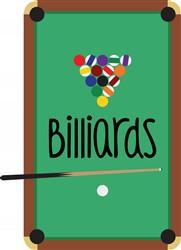 Billiards Table Print Art