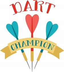 Dart Champion Print Art