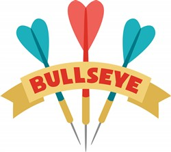 Darts Bullseye Print Art