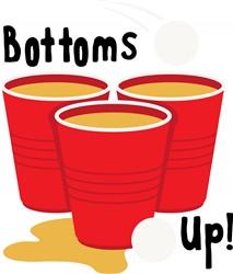 Bottoms Up Print Art