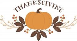 Thanksgiving Pumpkin Print Art