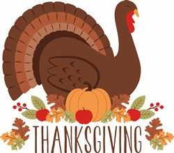 Thanksgiving Turkey Print Art