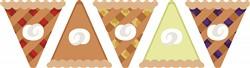 Pie Dessert Slices Print Art