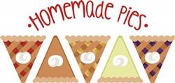 Homemade Pies Print Art