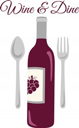 Wine & Dine Print Art
