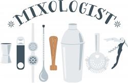 Mixologist Tools Print Art