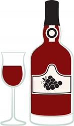 Port Dessert Wine Print Art