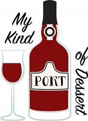 Port Dessert Wine Print Art