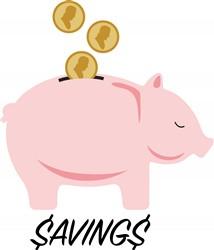 Piggy Bank Savings Print Art