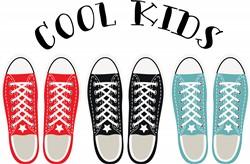 Cool Kids Shoes Print Art