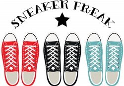 Sneaker Freak Print Art