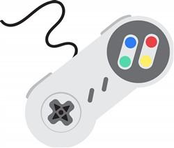 Video Game Controller Print Art