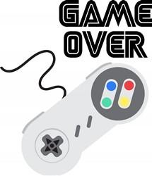Game Over Print Art