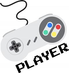 Game Controller Player Print Art