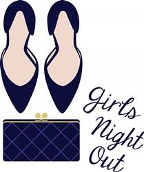 Girls Night Out Print Art