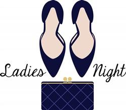 Ladies Night Print Art