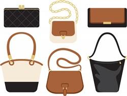 Womens Handbags Print Art