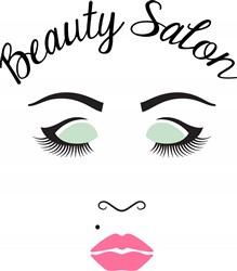 Beauty Salon Gal Print Art