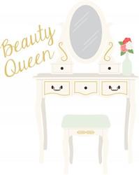 Beauty Queen Vanity Print Art