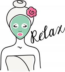 Relax Spa Print Art